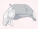 Memorial Badge-Gray