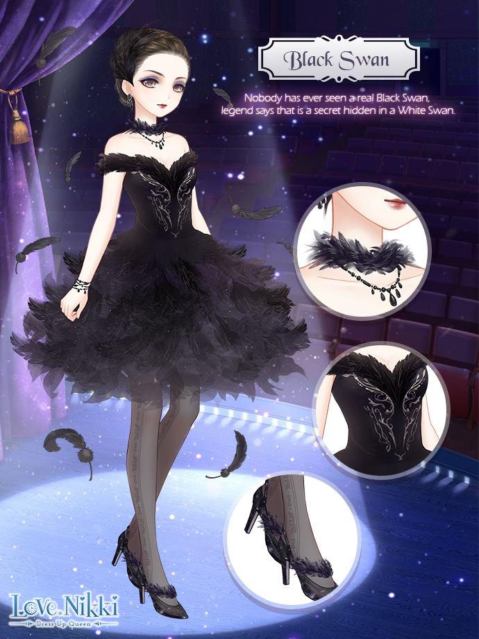 Black Swan Love Nikki Dress Up Queen Wiki Fandom