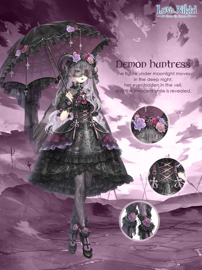 Demon Huntress Love Nikki Dress Up Queen Wiki Fandom