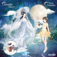 Moonlight Dancer and Sweet Osmanthus