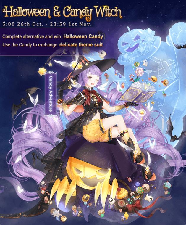 Colorful Halloween Game Love Nikki Dress Up Queen Wiki