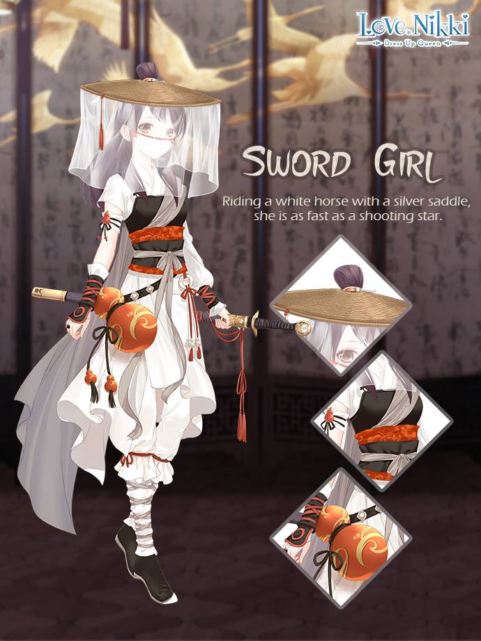 sword girl love nikki dress up queen wiki fandom powered by wikia