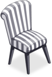 Zebra Striped Chair