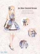 Ice Blue Classical Dream