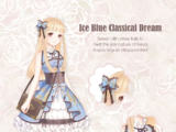 Ice Blue Classical Dream