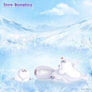 Snow Dumpling background