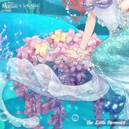 The Little Mermaid close up 2