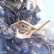 Minstrel of Time close up 3