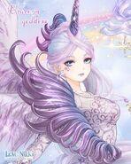 Unicorn Goddess close up 3