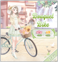 Bouquet Bike Pack