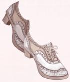 British Shoes-White