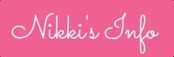 Nikki's Info - Affiliation Button