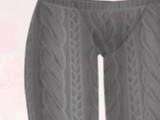 Twist Socks-Gray