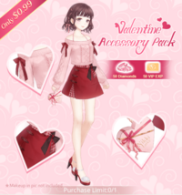 Valentine Accesory Pack
