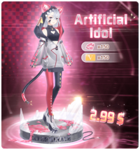 Artificial Idol Pack