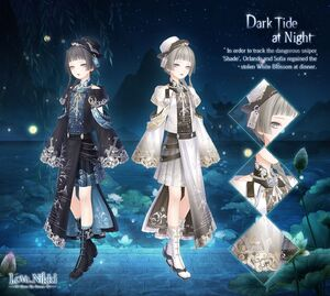 Dark Tide at Night