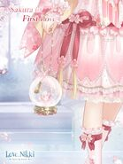 Sakura in First Love close up 2