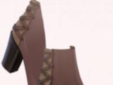 Chestnut Goat Skin Boots