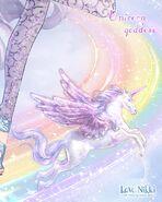 Unicorn Goddess close up 2