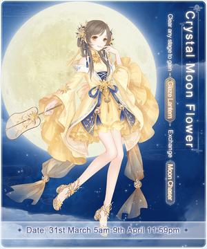 Crystal Moon Flower