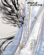 Dragon of Apocalypse Recolor Closeup 2