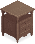 Cream Classic Double Cabinet