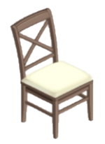 White Tower Dining Chair