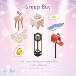 Group Buy 20190601