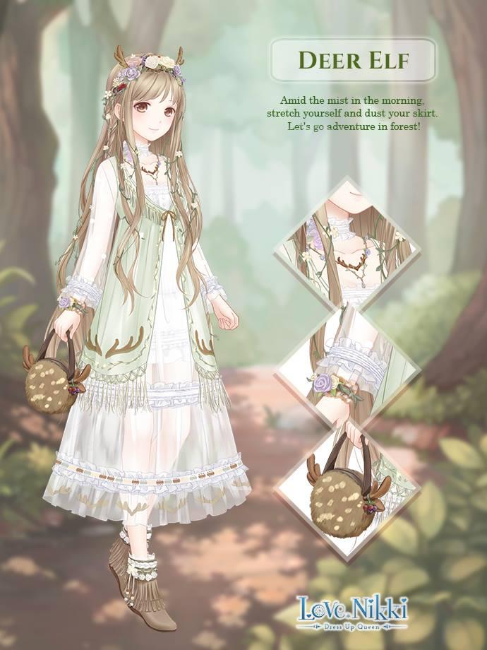 Deer Elf Love Nikki Dress Up Queen Wiki Fandom
