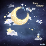 Starry Fantasy background
