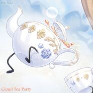 Cloud Tea Party close up 3