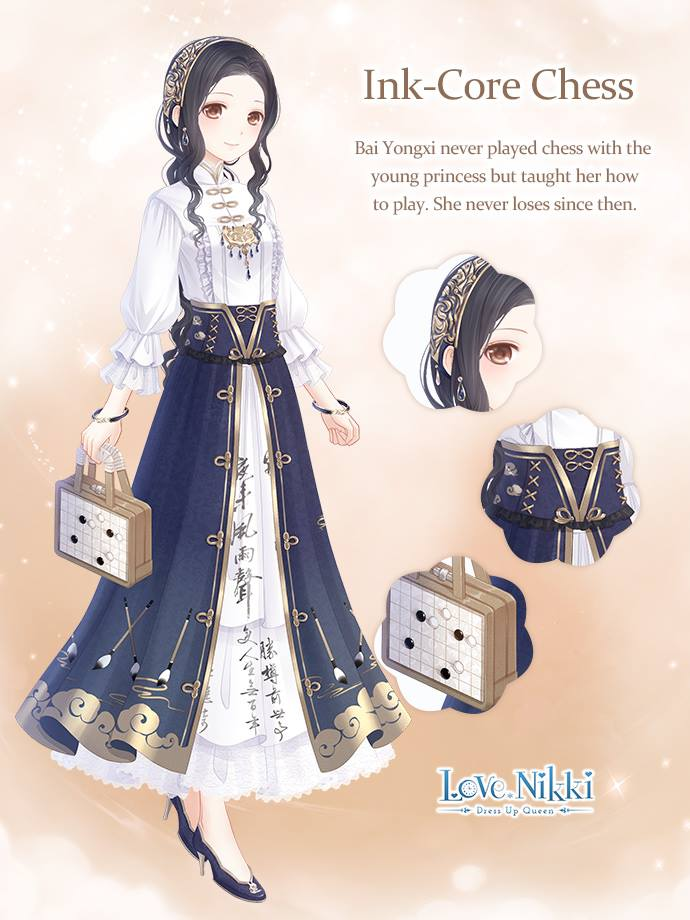 Ink Core Chess Love Nikki Dress Up Queen Wiki Fandom