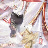 Fox Bride Close Up 3
