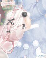 Fluffy Heart Closeup 2