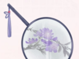 Ink Orchid Fan