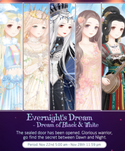 Evernight's Dream - Dream of Black and White