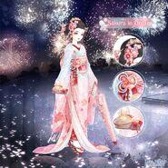 Sakura in Dream unposed