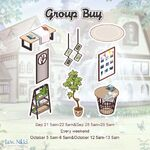 Group Buy 20190921