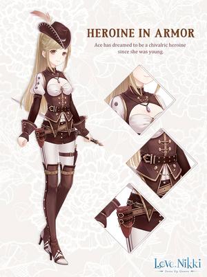 Heroine in Armor