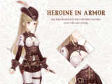 Heroine in Armor