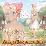 Energetic Space Buns return