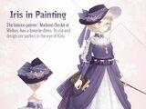 Iris in Painting