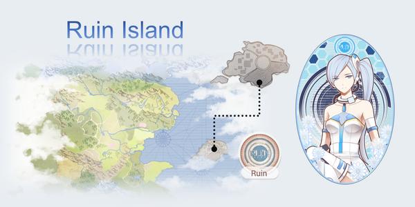 Ruin Island Map