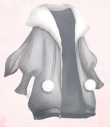 Gradual Changing Grey Wool