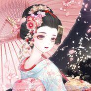 Sakura in Dream close up 1