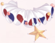 Colorful Star Collar