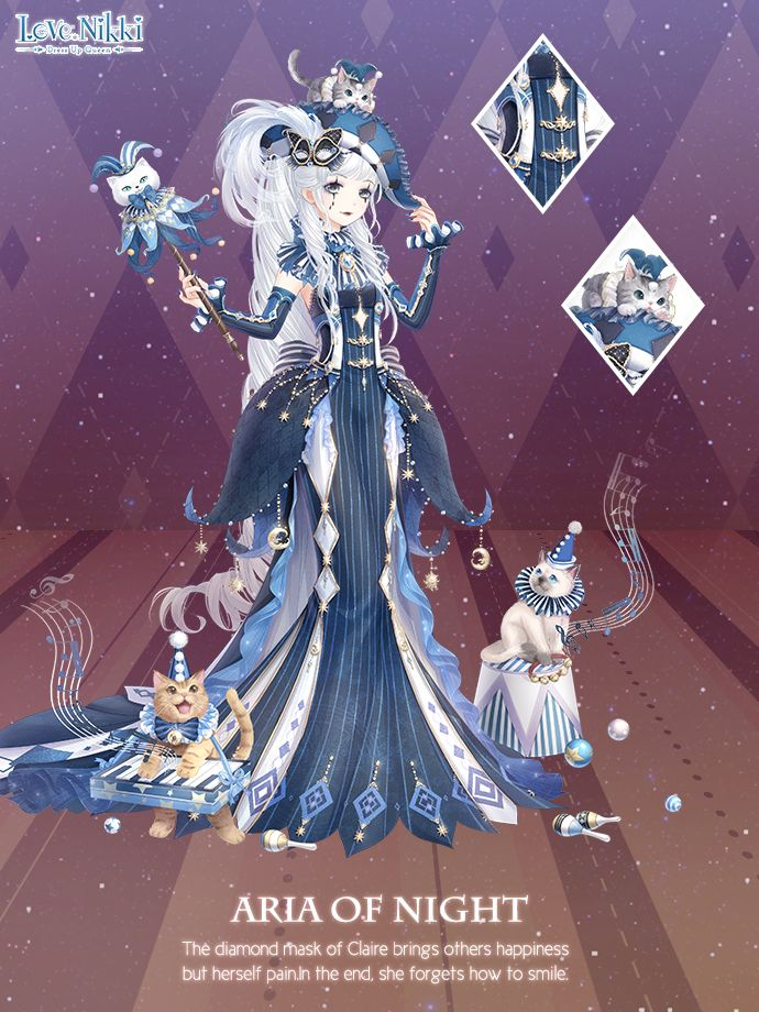 Aria Of Night Love Nikki Dress Up Queen Wiki Fandom