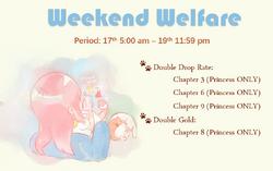 Weekend Welfare
