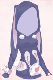 Bunny Pocket-Purple