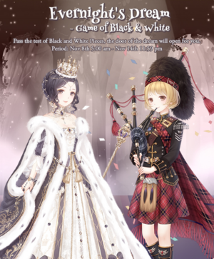 Evernight's Dream - Game of Black and White